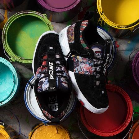 DC Shoes x Jean-Michel Basquiat