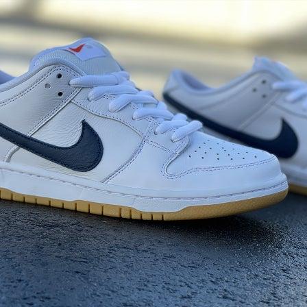 "Nike SB Dunk Low Pro ISO ""White/Navy"""